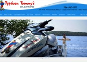 Typhoon Tommy's Jet Ski, Pontoon Boat & Bicycle Rental at Lake Oconee